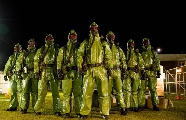 containment suit crew
