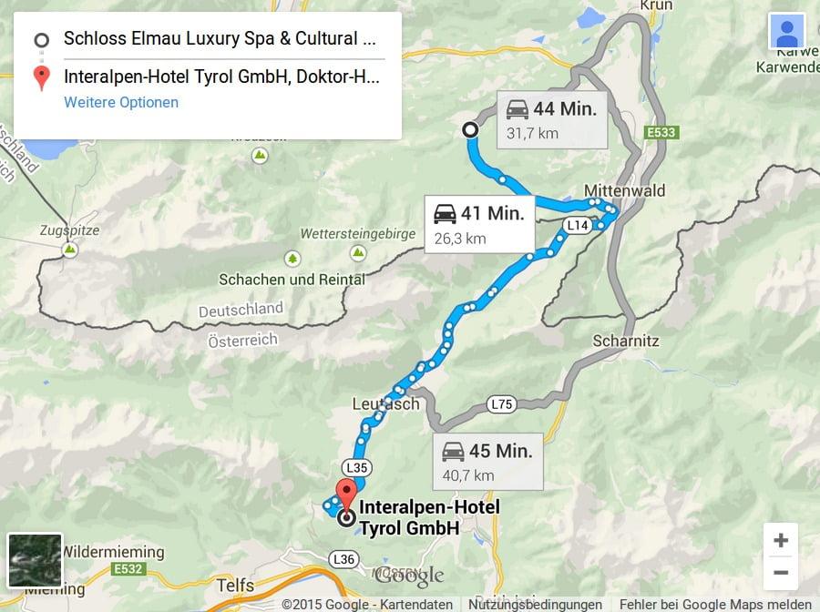 G7 Bilderberg Route