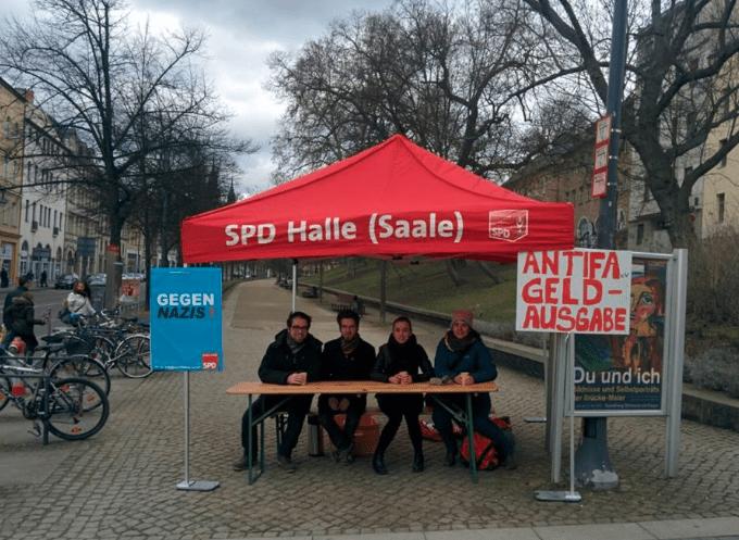 Antifa-Geldausgabe