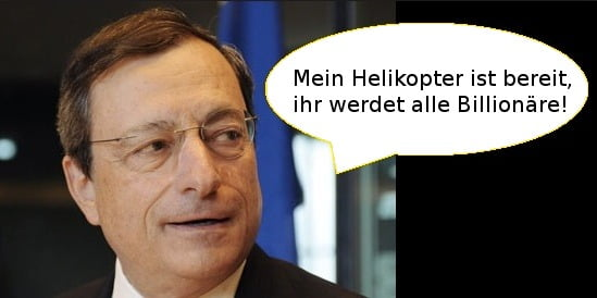 Helicopter-Draghi