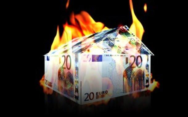 euro house on fire