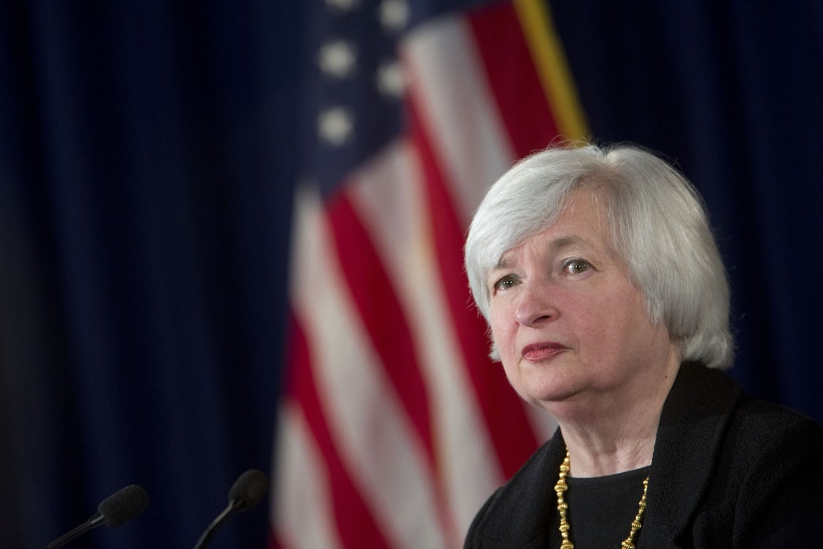 Fed Chair Janet Yellen Holds News Conference Following FOMC Meeting