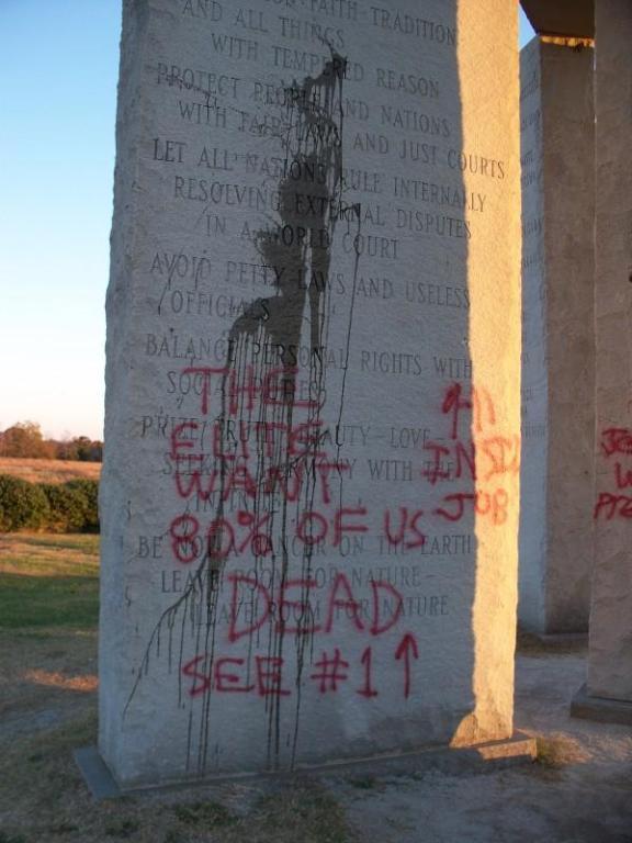 GG vandalism