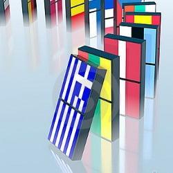 griechenland greece crash domino