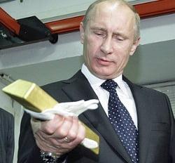 russia gold putin