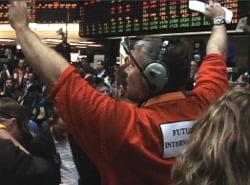 stock market trading crash panic