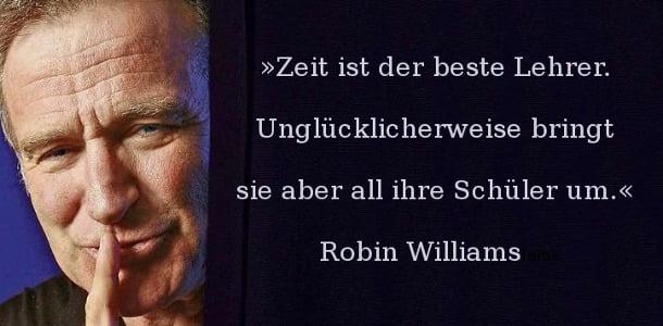Robin Williams zeit ist der beste lehrer