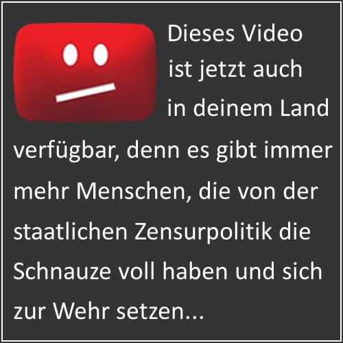 youtube zensur schnauze voll