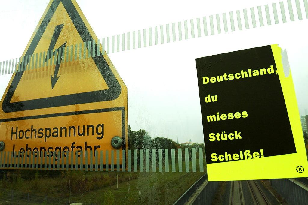 deutschland du mieses stück scheiße