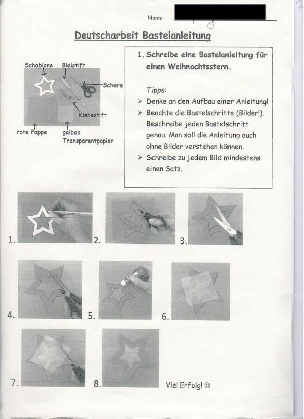 Deutsch-Arbeit-S1