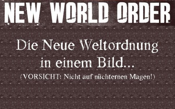 Die neue Weltordnung in einem Bild